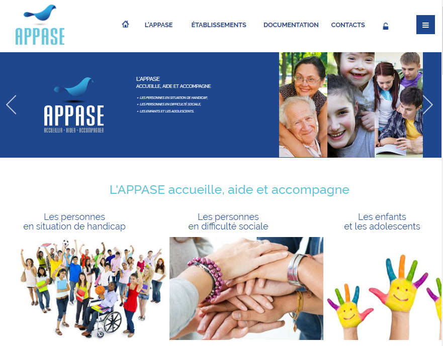 Site internet de l'APPASE