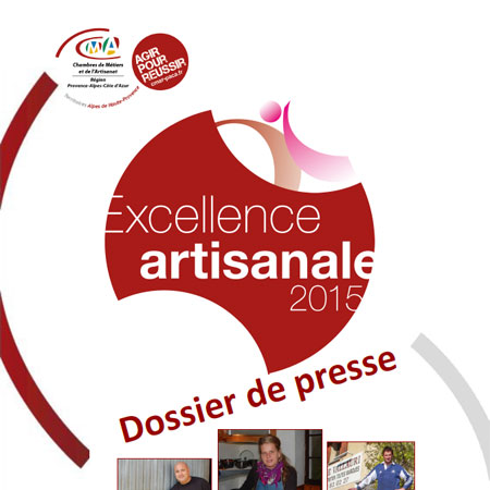 Excellence artisanale 2015