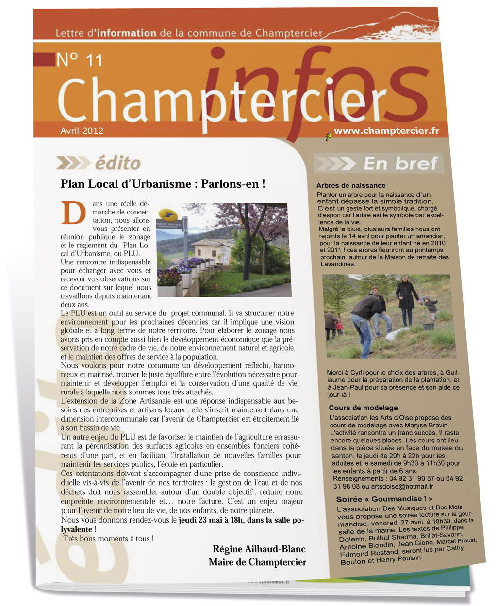 Bulletin municipal de Champtercier